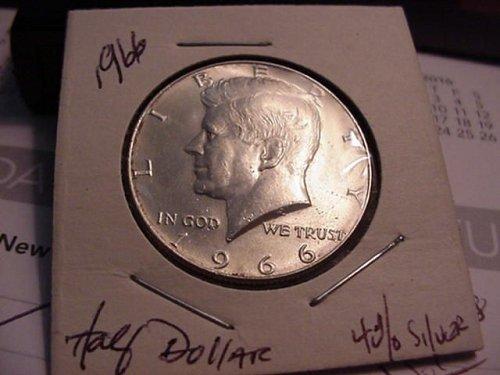 1966 silver half 40%