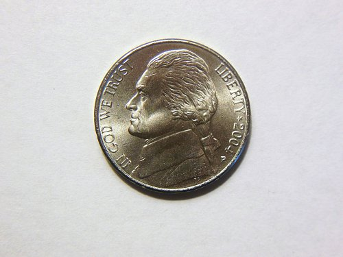2004-P Jefferson Nickel- Peace Medal