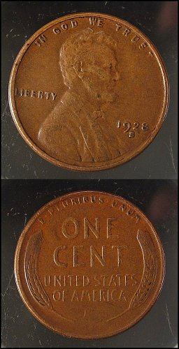 1928 S small s Lincoln Cents Small Cents: Nice Penny