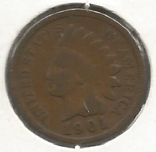1901 Indian Cent Good #1001