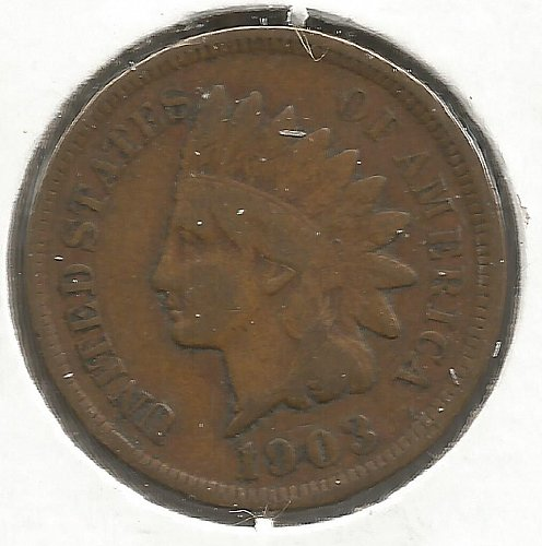 1903 Indian Cent Fine #1007