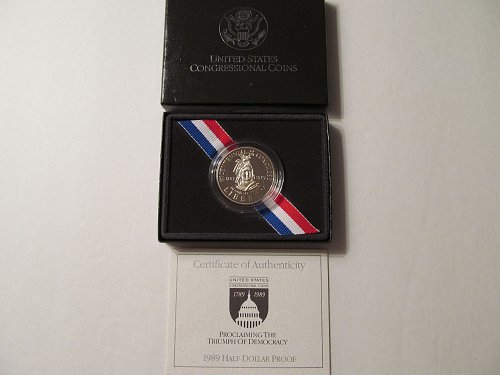 1989 Bicentennial of the United States Congress half dollar