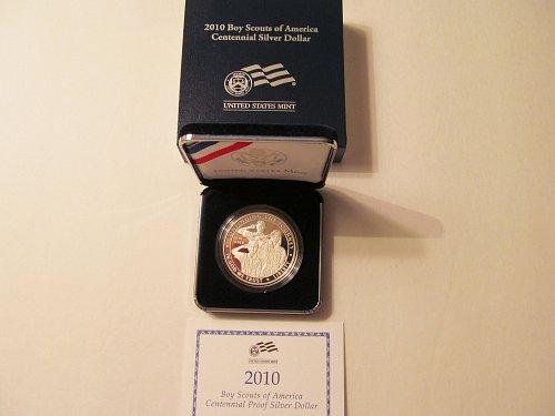 2010 Boy Scouts of America Centennial silver dollar
