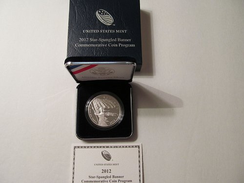 2012 Star-Spangled Banner Commemorative silver dollar