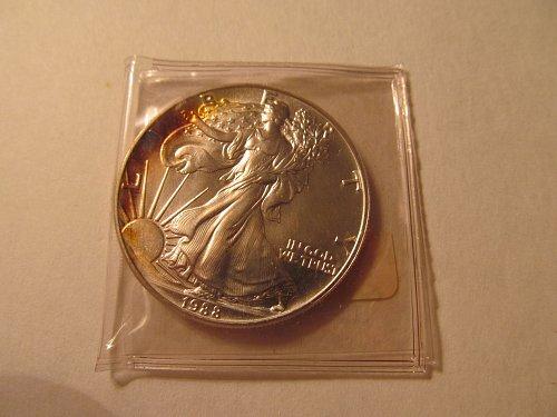 1988 Silver American Eagle #2