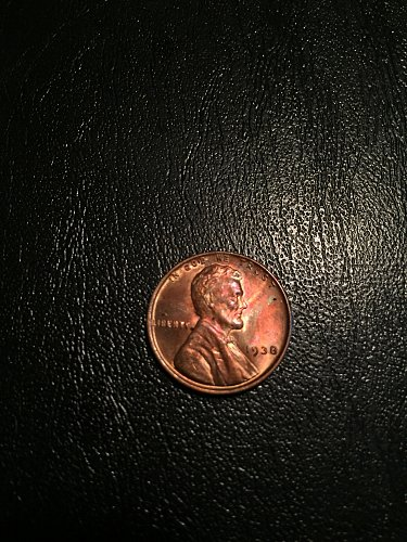 1938-P Lincoln Wheat Penny