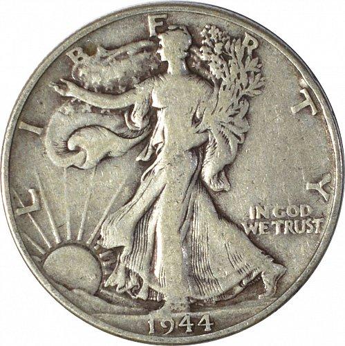 1944 Walking Liberty Half Dollar,  (Item 98)