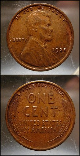 1925 Lincoln Cent Small Cents – Nice Penny