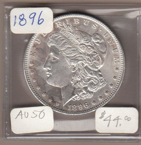 Morgan 1896 Dollar: AU50   / MC26