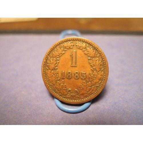 1885 austria 1 kreuzer
