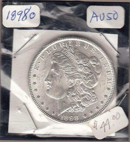 Morgan 1898o Dollar: AU50   / MC27
