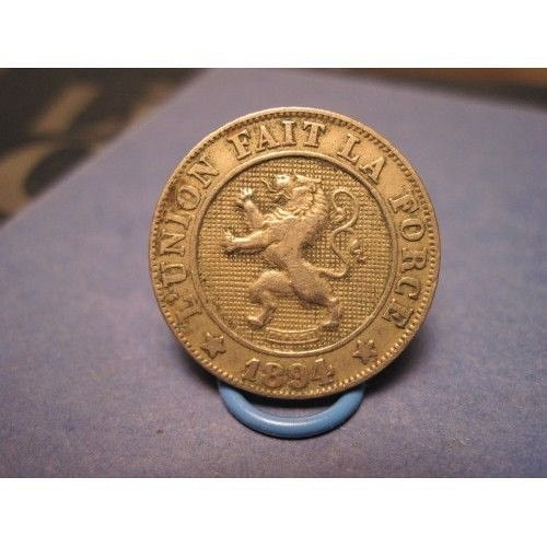1894 belgium 10 centimes