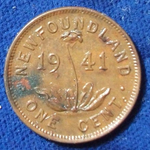 1941C Newfoundland Cent AU