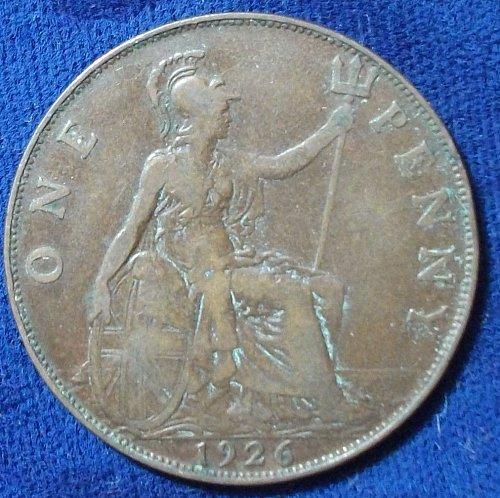 1926 Great Britain Penny Fine+