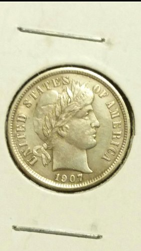 1907-P barber dime(see new pics)