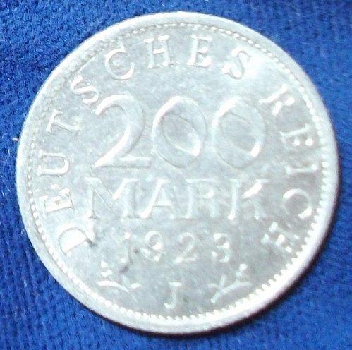 1928J Germany/Weimar Republic 200 Mark XF
