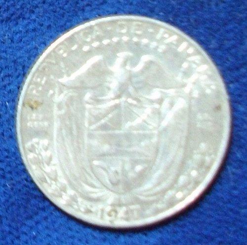 1947 Panama 1/10 Balboa XF