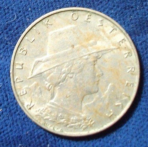 1928 Austria 10 Groschen XF