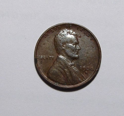 1935 D LINCOLN WHEAT CENT RPM REPUNCHED MINT MARK