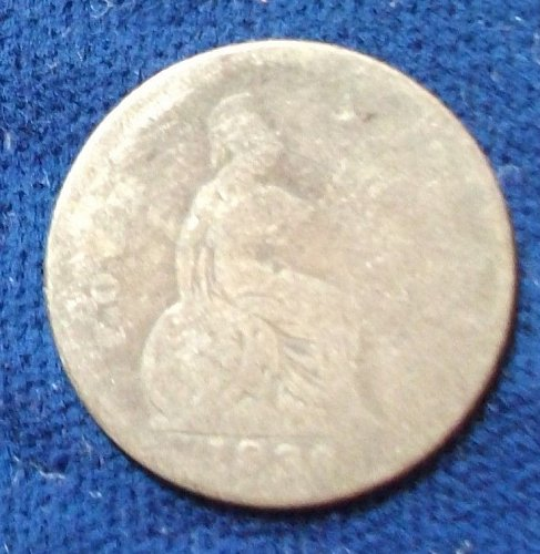 1836 Great Britain 4 Pence AG