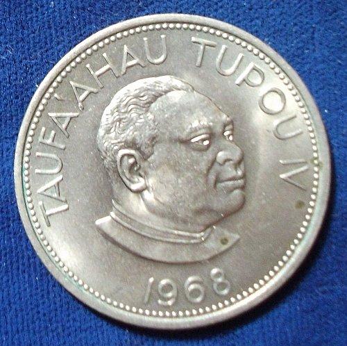 1968 Tonga 50 Seniti UNC