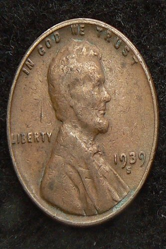 1939 S Lincoln Wheat Cent (VG-8)