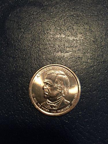 2011-D Andrew Johnson Presidential Dollar
