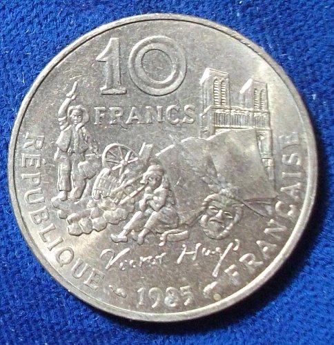 1985 France 10 Francs UNC