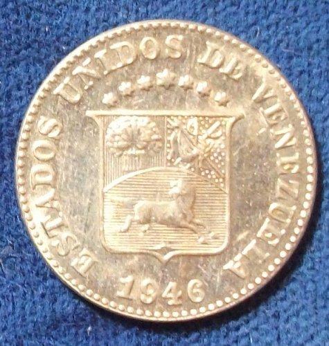 1946 Venezuela 5 Centimos UNC