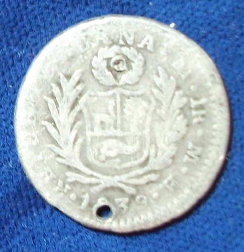 1839MB Peru Real VG Holed