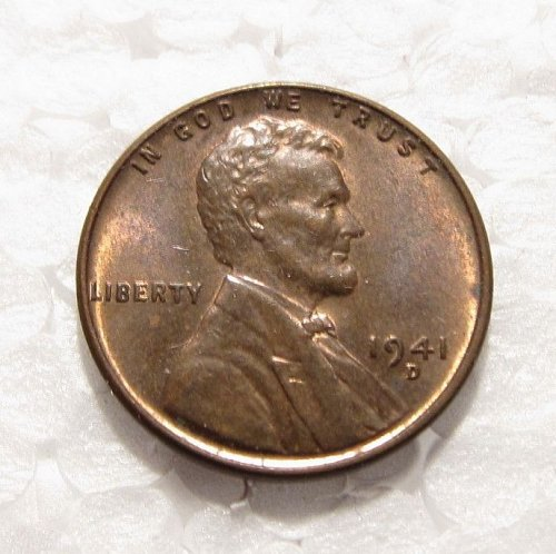 1941 D LINCOLN WHEAT CENT DDO DOUBLE DIE ERROR