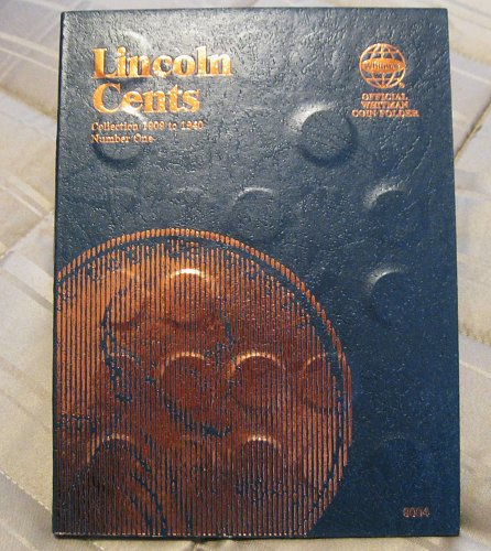 Lincoln Cent Collection Starting 1909 thru 1940. Whitman Book One #9004