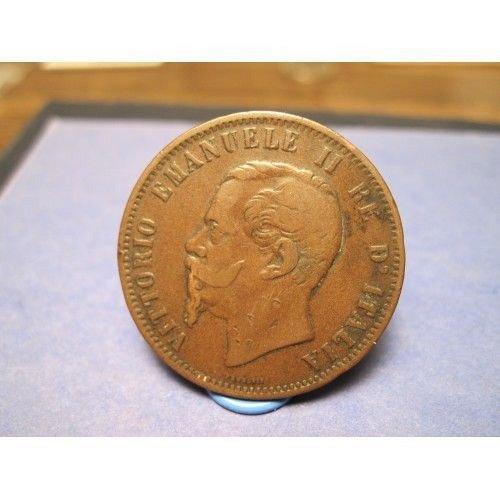 1862 italy 10 centesimi