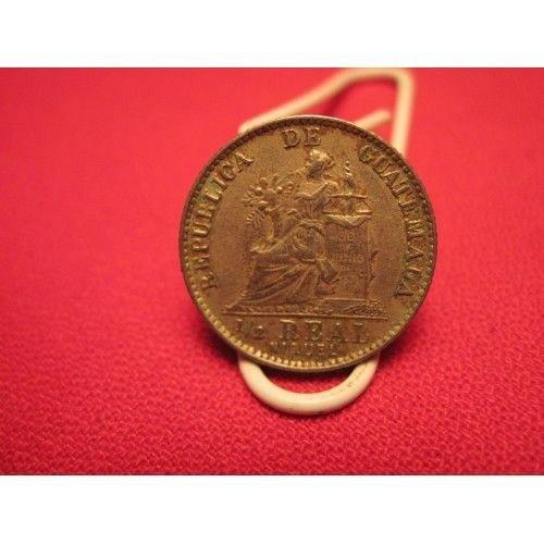 1900 guatemala 1/2 real
