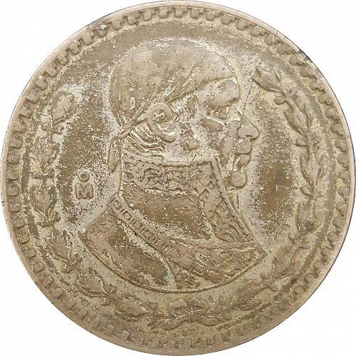 1957 - 1967 Mexican Silver Peso (Morelos) **4 COINS FOR $12**