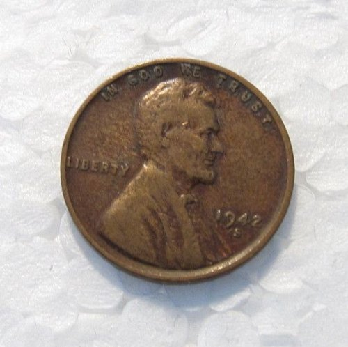 1942 S LINCOLN WHEAT CENT DDO DOUBLE DIE OBVERSE 2-O-IV