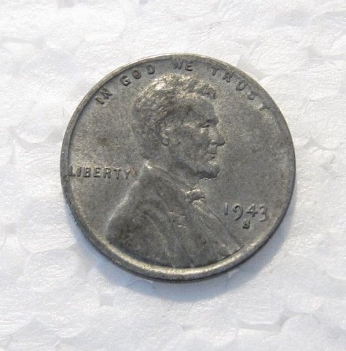 1943 S LINCOLN WHEAT CENT RPM REPUNCHED MINT MARK ERROR