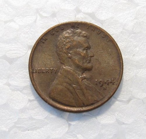 1944 S LINCOLN WHEAT CENT DDO DOUBLE DIE OBVERSE ERROR