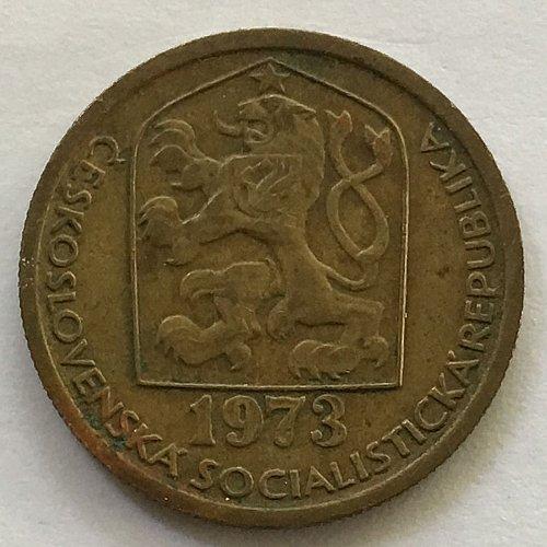 Czechoslovakia 20 hellers 1973