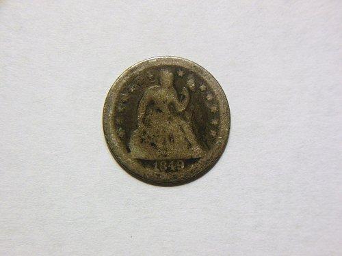1849-O Silver Seated Liberty Dime