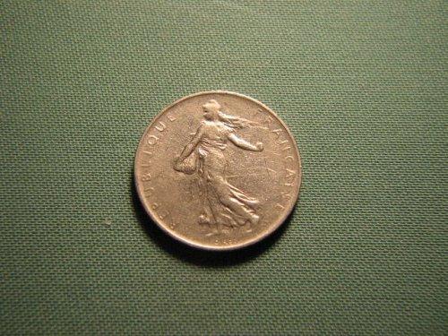 France 1960 1 franc coin