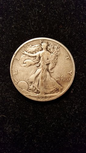 1929 D Walking Liberty Half