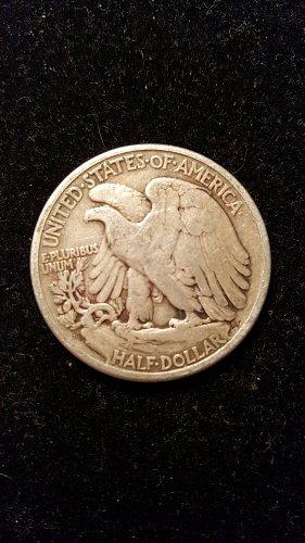 1929 D Walking Liberty Half