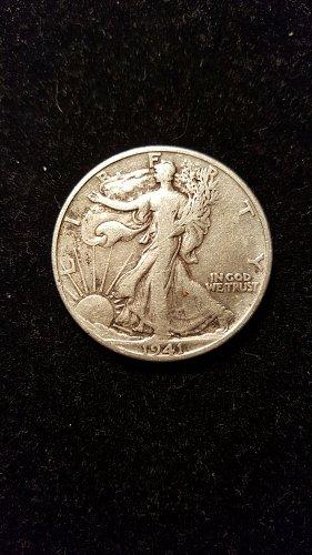 1941 S Walking Liberty Half