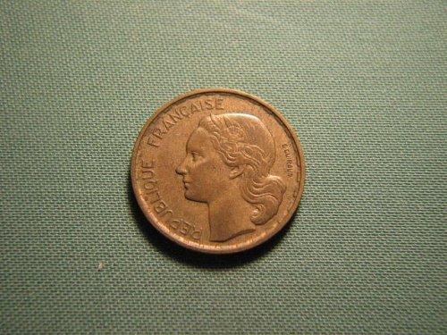 France 1953 20 francs coin