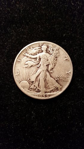 1944 Walking Liberty Half