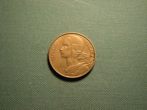 France 1978 10 centimes coin