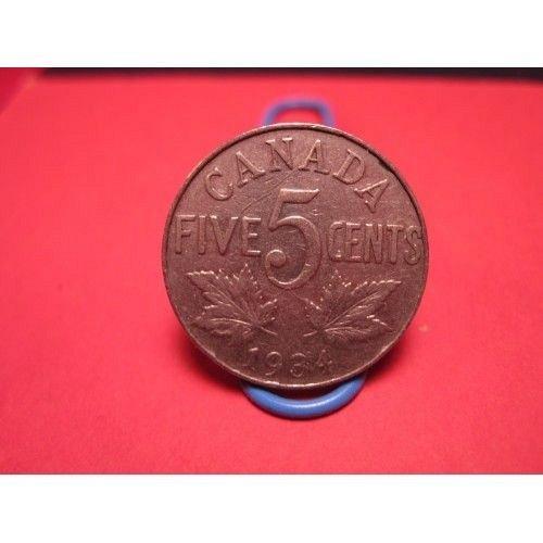 1934 canada 5 cent