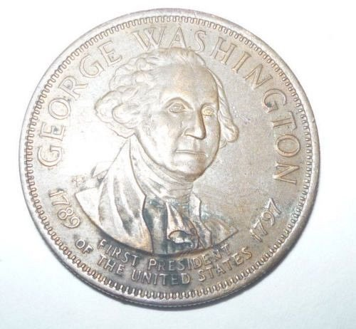 george washington 1st.president of usa 1789 coin/medal