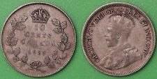 2-old canada dimes 1919 and 1929 silver